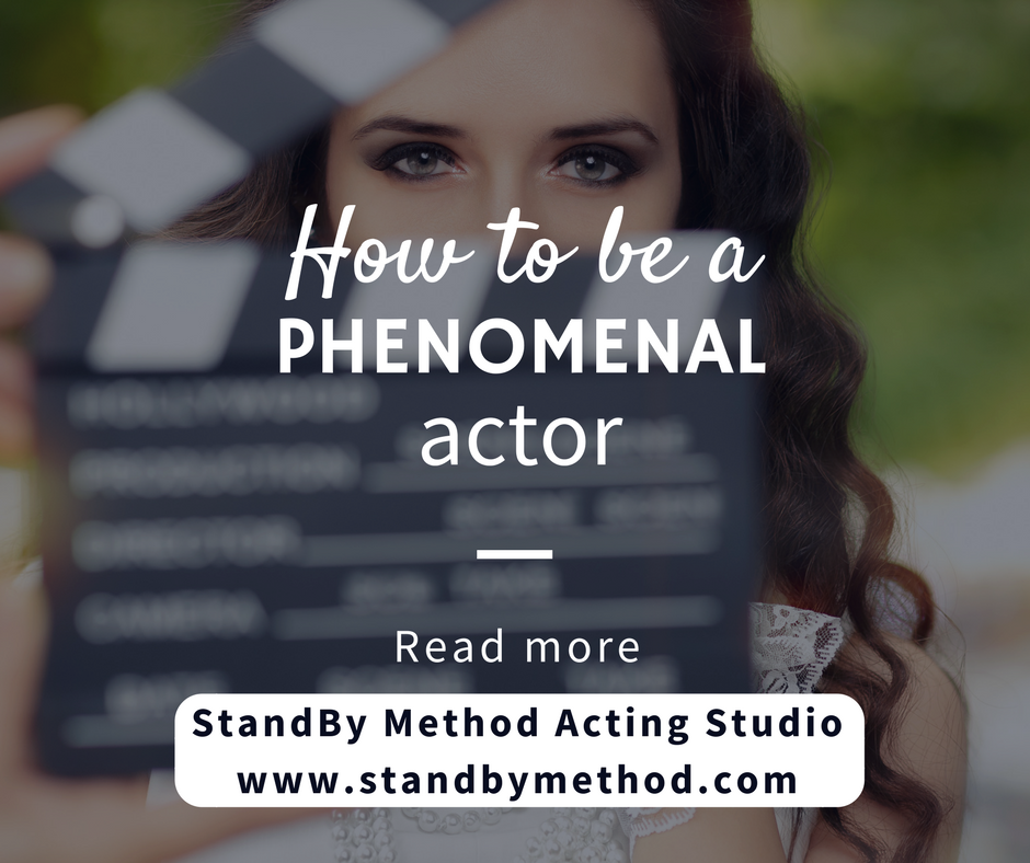 How to be a phenomenal actor