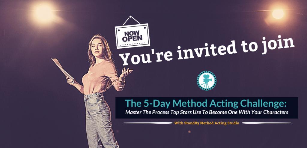 The 5-Day Method Acting Challenge! (1)
